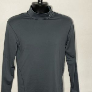 Nike Fit Pro Compression Mock Fleece Lined Sz XL